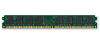 DDR2 Very Low Profile Unbuffered DIMM