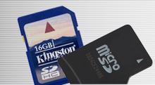 Kingston FlashMedia SD microSD